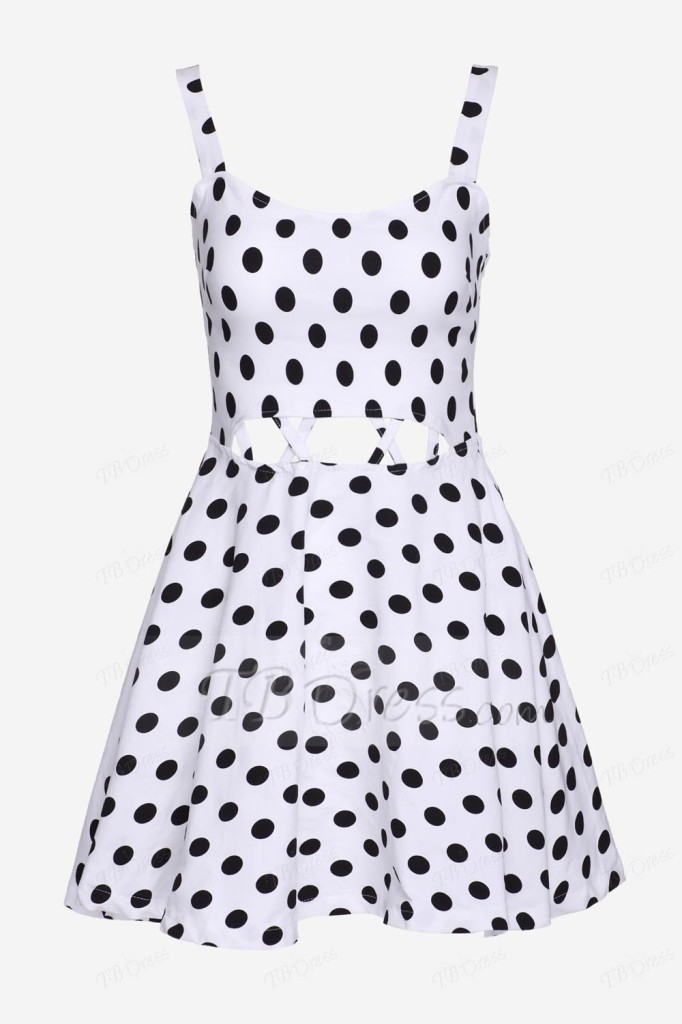 TB dress polkas